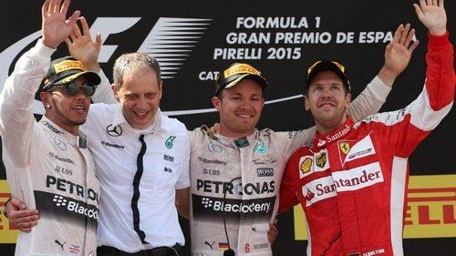 Нико Росберг стал победителем Гран-при Испании
