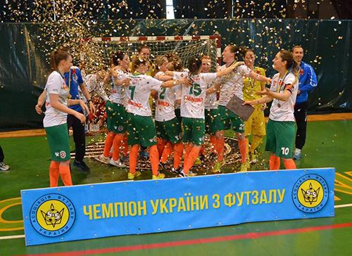 Найкращі футзальні жіночі команди завершили чемпіонат країни
