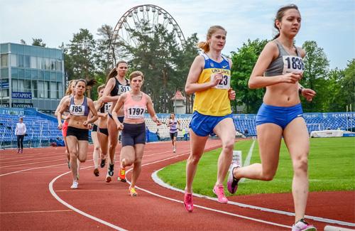 В Харькове прошла XII легкоатлетическая летняя Универсиада