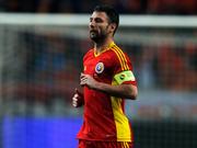 Разван Рац получил награду за 100-й матч в сборной Румынии