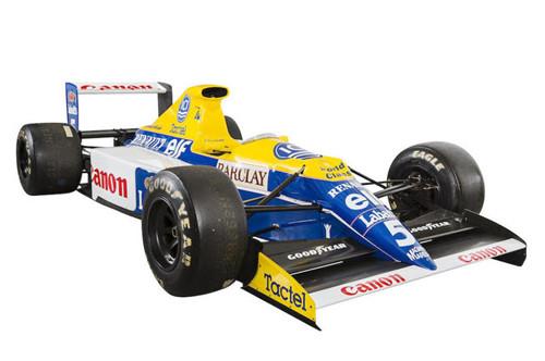 Williams выставит на аукцион легендарный FW13B
