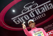Альберто Контадор - победитель Джиро д'Италия-2015