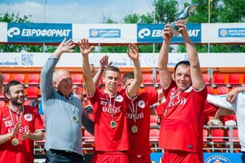 ХИТ сенсационно добывает Кубок Киева пляжного футбола!