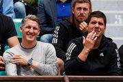 Швайнштайгер поддерживает Иванович на матче со Свитолиной
