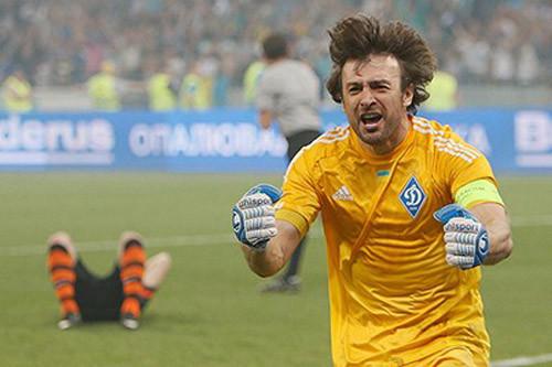Шовковский сыграл 600-й матч в составе Динамо