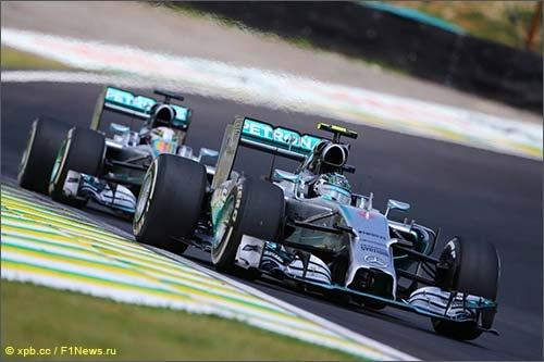 В Mercedes делают все, чтобы избежать технических проблем