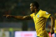 Дебютный гол Дугласа Косты за сборную Бразилии