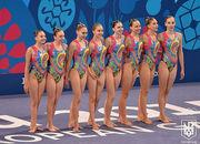 ЕИ. Украинки добывают еще одну медаль в синхронном плавании