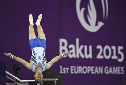 ЕИ. Сборная Украины по спортивной гимнастике берет серебро!