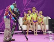Украинские акробатки финишировали четвертыми в Баку