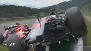 Райкконен и Алонсо столкнулись на Гран При Австрии
