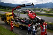 Авария в Австрии может изменить планы McLaren