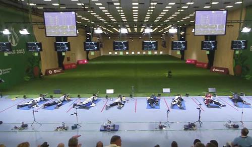Юрий Сухоруков вышел в финал Европейских игр