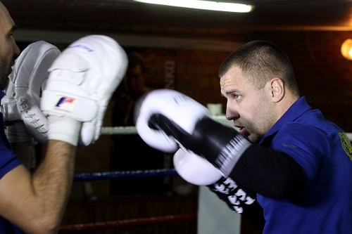 Сенченко, Бурсак и Саламов провели открытую тренировку