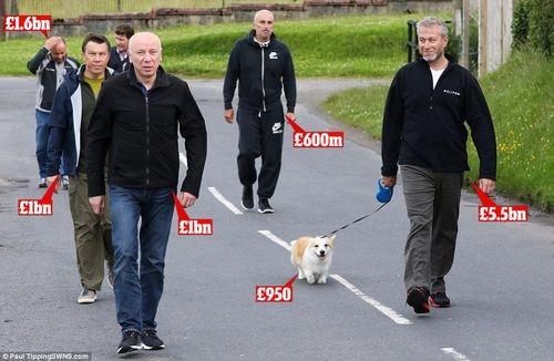 Фото Ярославского и Абрамовича «взорвали» СМИ Британии