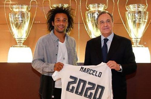 Реал продлил Марсело до 2020 года