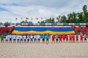 Пляжный футбол Украины: Хит лидирует в Высшем дивизионе!