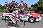 Падение Хоакима Родригеса на 11 этапе Тур де Франс-2015