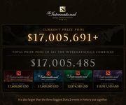 Фото Призовой фонд The International 5 перевалил за 17 миллионов