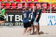 Пляжный футбол: Хит и А.М. уходят в отрыв Высшего дивизиона!