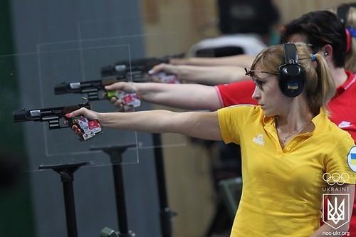 Украинцы взяли две медали на ЧЕ по пулевой стрельбе