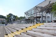 Сталь начала реконструкцию домашнего стадиона