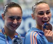 Украинские синхронистки завоевали бронзу на чемпионате мира