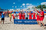 Пляжный футбол Киева: Хит чемпион, Артур Мьюзик с серебром!