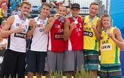 Медальные успехи украинских мастеров пляжного волейбола