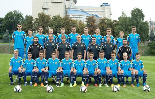 Сборная Украины U-16 приступила к тренировкам