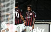 Луис Адриано забил первый официальный гол за Милан
