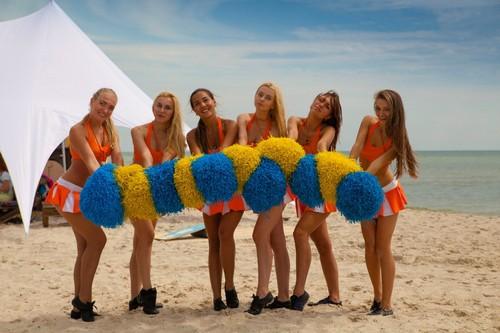 В Лазурном стартовал фестиваль спорта и музыки Crazzzy Days