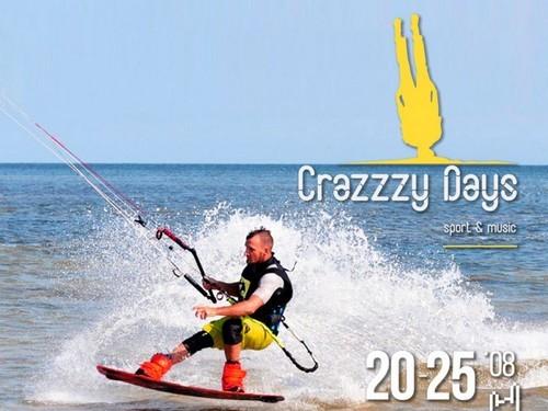 Crazzzy Days: спорт и музыка на берегу моря