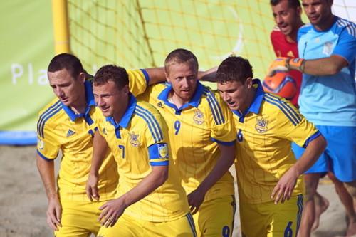 Пляжний футбол: Україна вперше в історії здобуває срібло ЄЛ!