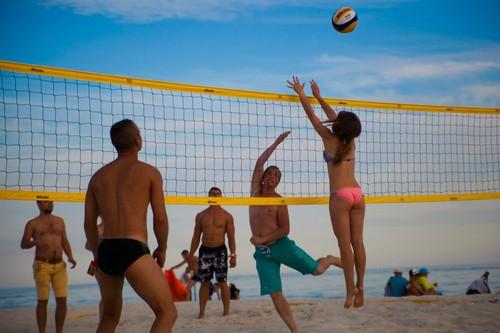 В Лазурном провели Суперкубок Украины по пляжному волейболу