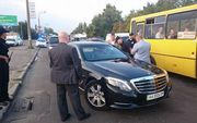 Как киевская полиция у Григория Суркиса спецсигналы отбирала