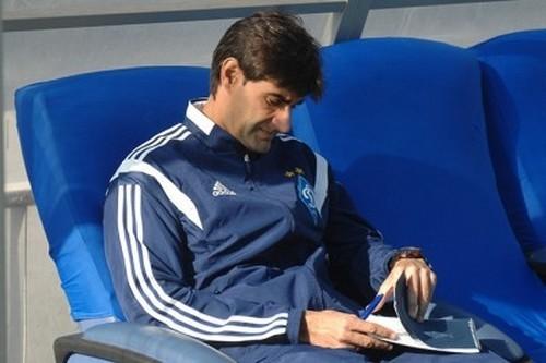 Тренер Динамо посетил матч Порту