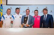 Андрій Павелко привітав збірну України з пляжного футболу