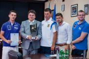 Міністр спорту Ігор Жданов привітав пляжну збірну України