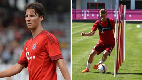 Бавария подписала контракты с двумя 17-летними игроками