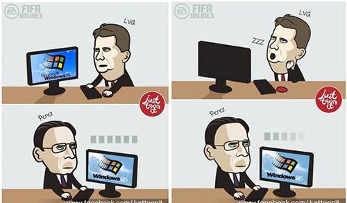 Трансфер Де Хеа в Реал сорвался из-за Windows 95