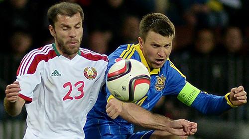 Гармаш и Кравец в стартовом составе сборной Украины