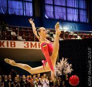 ЧМ. Ризатдинова - третья в квалификации в упражнении с мячом
