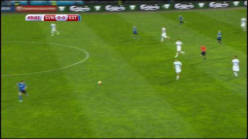 Словения - Эстония. 1:0. Видеообзор матча