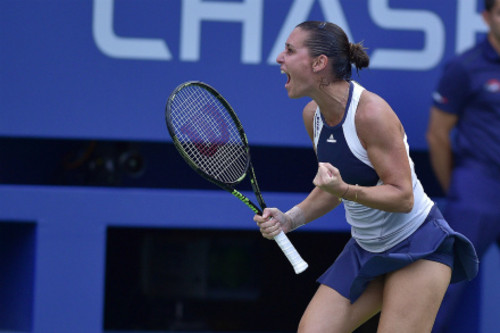 Флавия Пеннетта выигрывает US Open