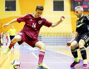Латвия в первом матче пропустила от Испании 5 мячей