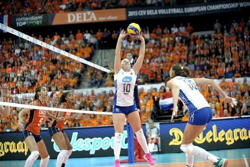 Чемпионат Европы по волейболу выиграла сборная России