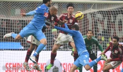 Наполи разбил Милан на Сан Сиро