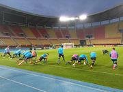 Загонять Петровича, или Тренировка сборной Украины в Скопье