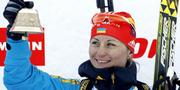 Валентина Семеренко завоевала бронзу в индивидуальной гонке!